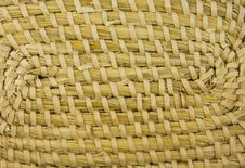 Free Texture Wove Hay - Straw Royalty Free Stock Images - 9471849