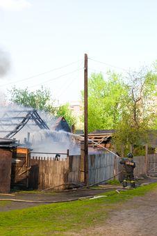 Free Burning House Stock Photography - 9472872