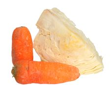 Free Cabbage And Carrots Stock Images - 9473134