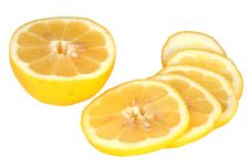 Free Lemon Cut On Segments Stock Photo - 9473820