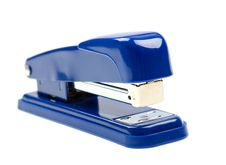 Free Blue Strip Stapler Isolated On White Stock Photos - 9474513