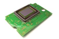 Free Digital Photo Sensor On Plate Stock Photography - 9474622