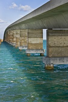 Infinity Bridge Stock Photography