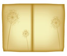 Free Old Floral Paper Royalty Free Stock Images - 9474919