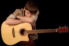 Free Guitarist Stock Photos - 9475093
