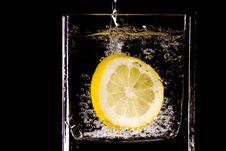 Free Citron Splash Royalty Free Stock Image - 9476176