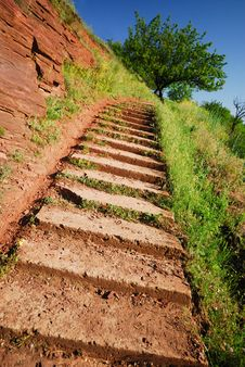 Free Steps Royalty Free Stock Image - 9476226