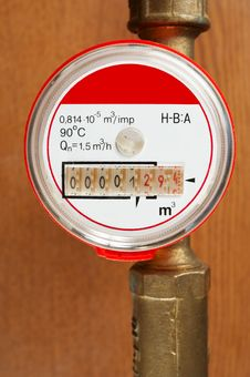 Meter And Tubes Stock Images