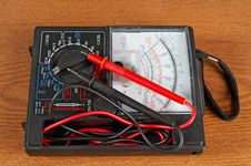 Free Voltmeter, Power And  Electricity Royalty Free Stock Photography - 9476657