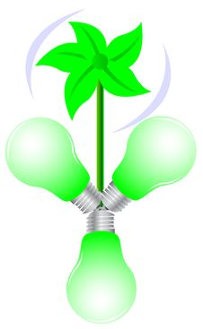 Free Floral Green Light Stock Images - 9476684
