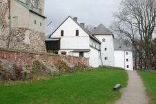 Free Medieval Stone Castle In Turku Stock Photography - 9476782