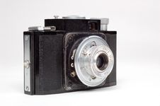 Free Old Camera Royalty Free Stock Photo - 9476945