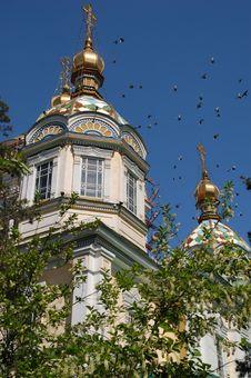 Free Almaty Sightseeing Royalty Free Stock Photo - 9476955