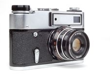 Free Old Camera Royalty Free Stock Photography - 9476957