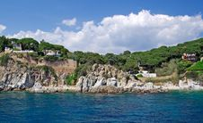 Free Villas Near Lloret De Mar. Royalty Free Stock Image - 9477106