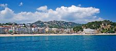 Free Panoramic Cityscape. Lloret De Mar. Royalty Free Stock Photos - 9477148