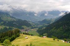 Free Mountain Village, Switzerland Stock Images - 9477354