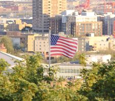 An American City Royalty Free Stock Photography