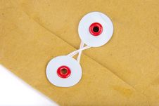 Fragment Of Post Envelope Stock Photography