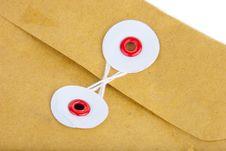 Fragment Of Post Envelope Royalty Free Stock Image