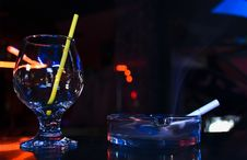 Free Glass And   Smoke Stock Image - 9478841