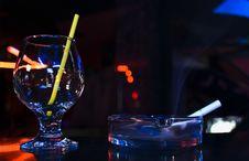Free Glass And   Smoke Stock Image - 9478841