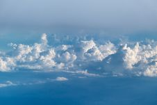 Free Clouds Seen From Above Stock Image - 94706601