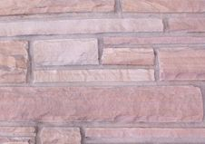 Free Red Rock Brick Texture Stock Photography - 94778032