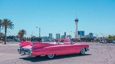 Free Classic Pink Convertible  Stock Photos - 94778263