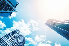 Free High Rise Buildings Royalty Free Stock Image - 94783056