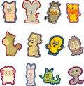 Free Animal Set Eight Royalty Free Stock Images - 9480929