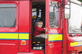 Free Boy In Fire Engine Stock Photo - 9483730