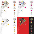 Free Vector Design With Flowers Stock Image - 9486821