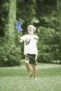 Free Boy Playing Catch Royalty Free Stock Image - 9486966