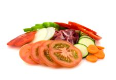 Free Meat And Vegetables Stock Images - 9480024