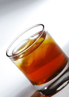 Free Whiskey Cocktail Royalty Free Stock Photography - 9482057