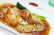 Free Chicken Noodles Stock Image - 9482231