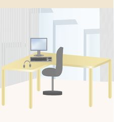 Free Working Place Stock Photos - 9482453