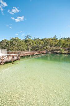 Free Bridge Beside Lake Stock Photo - 9482490