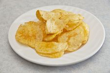 Free Potato Chips Stock Photo - 9482610