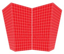 Free Red Squares Perspective Design Royalty Free Stock Photo - 9483155