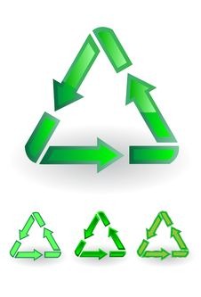 Free Recycle Symbol Stock Photography - 9484632