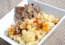 Free Lamb With Couscous Royalty Free Stock Photos - 9485068