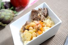 Free Lamb With Couscous Stock Images - 9485074