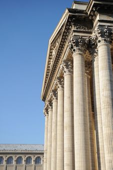 Free Pantheon In Paris Royalty Free Stock Photography - 9485187