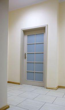 Free Door In Office. Royalty Free Stock Photo - 9485815