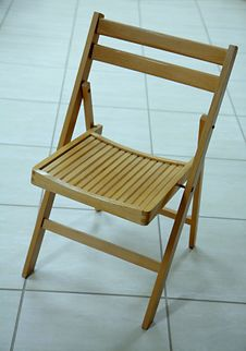 Free Wooden Chair. Stock Images - 9485834