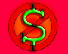 Free Anti Cash Royalty Free Stock Photos - 9485968