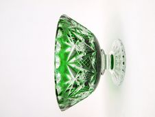 Free Green Color Crystal Jar Front Stock Images - 9486064