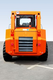 Free Small Digger Rear Stock Images - 9486664